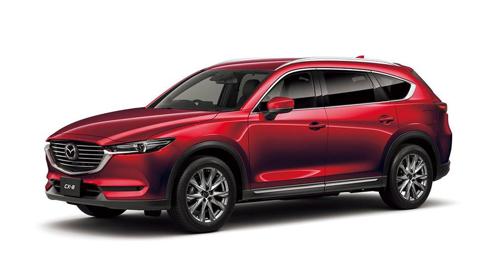 Mazda CX-8 2021 Màu Sắc