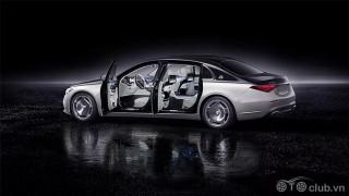 Ngoại thất Mercedes Maybach S-Class 2021