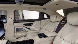 Nội thất Mercedes Maybach S-Class 2021