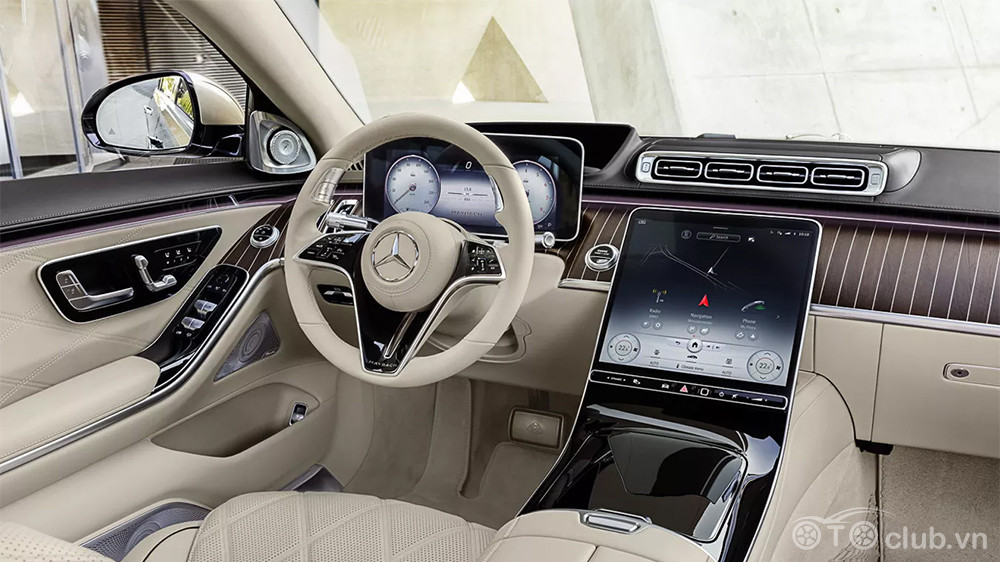 Nội thất Mercedes Maybach S-Class 2021