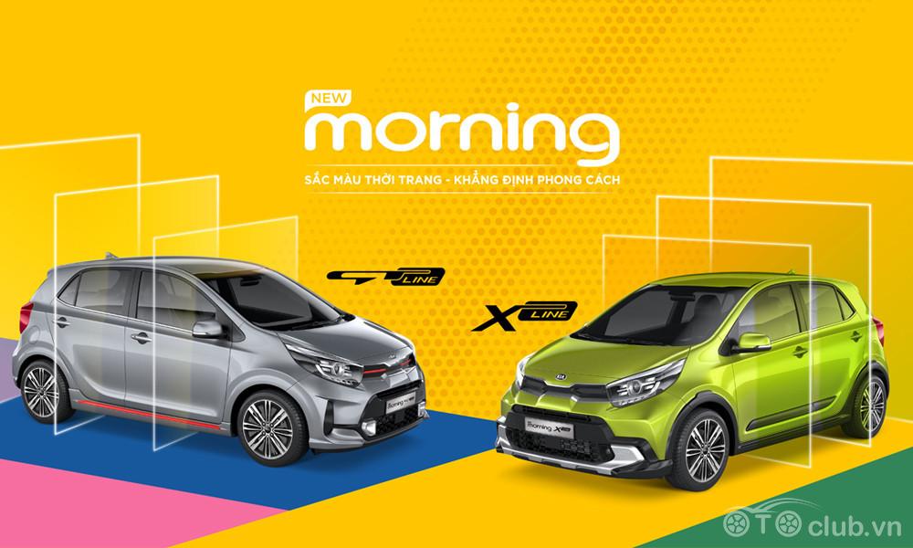 Kia Morning GT-Line & X-Line giá 439 triệu đồng