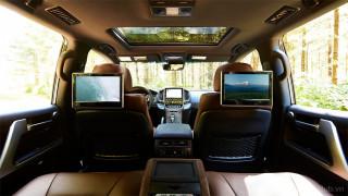 Nội thất Toyota Land Cruiser 2021
