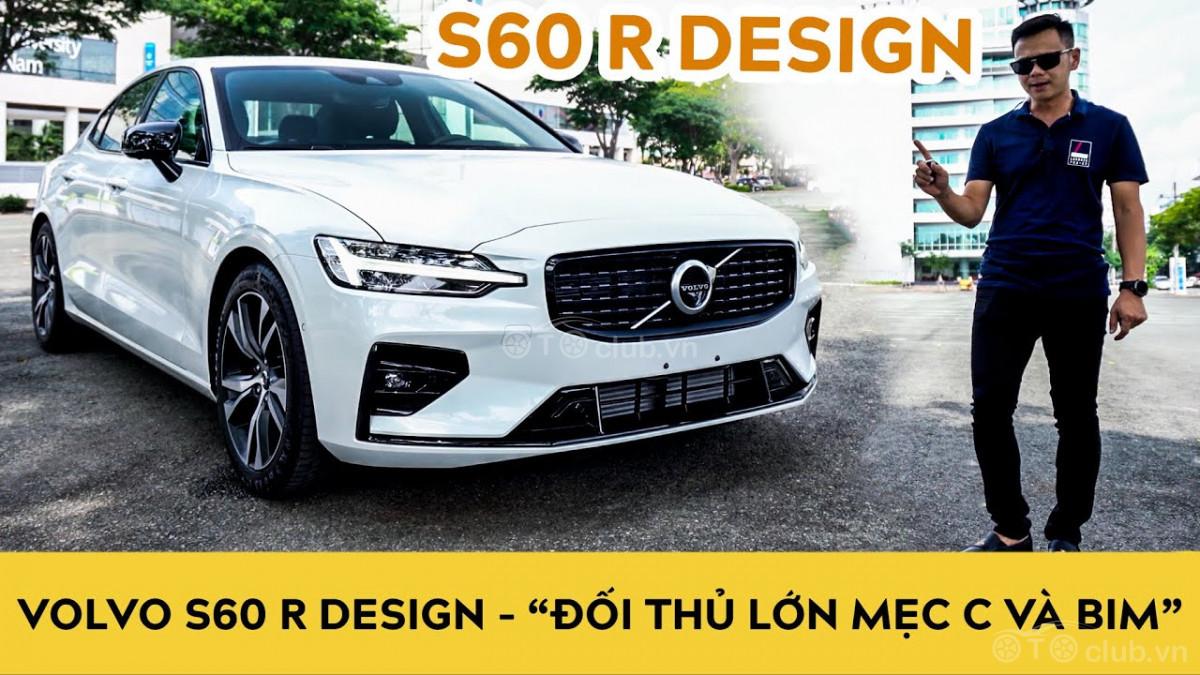 Bóc tem Volvo S60 2021 R Design