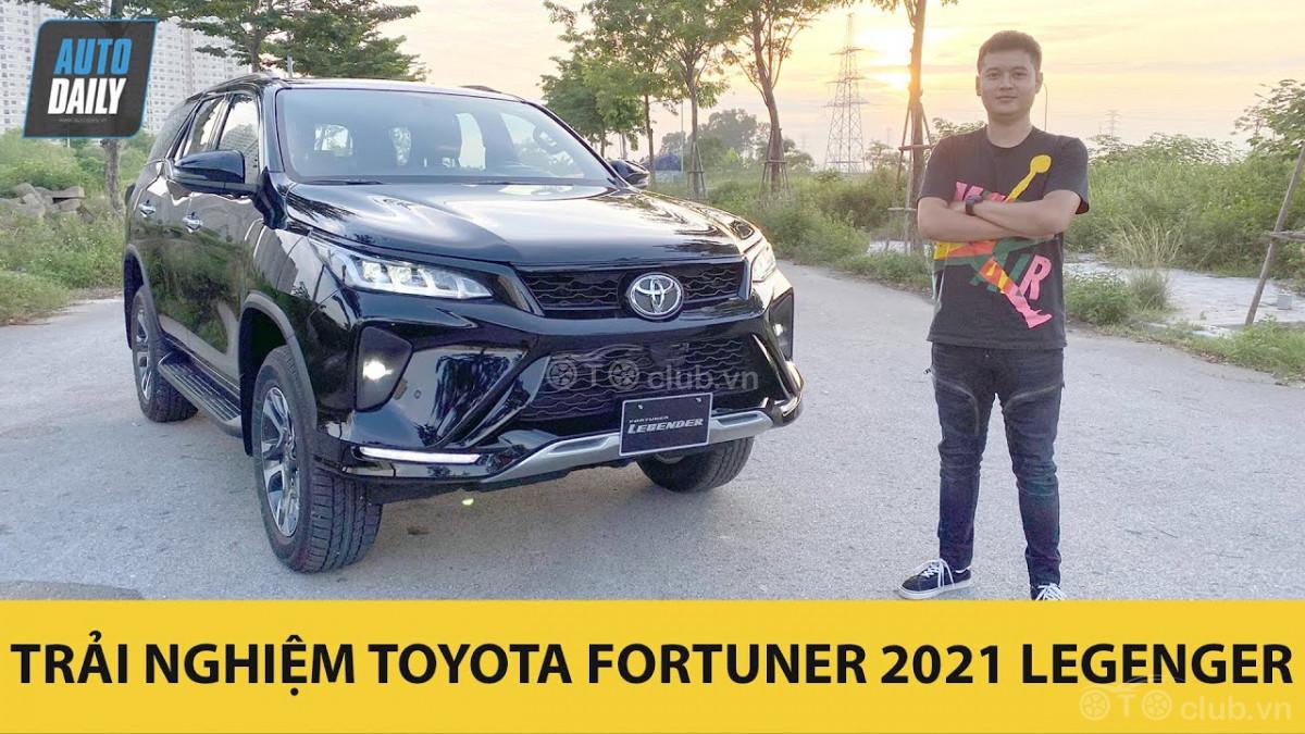 Toyota Fortuner 2021 phiên bản Legender chi tiết nhất