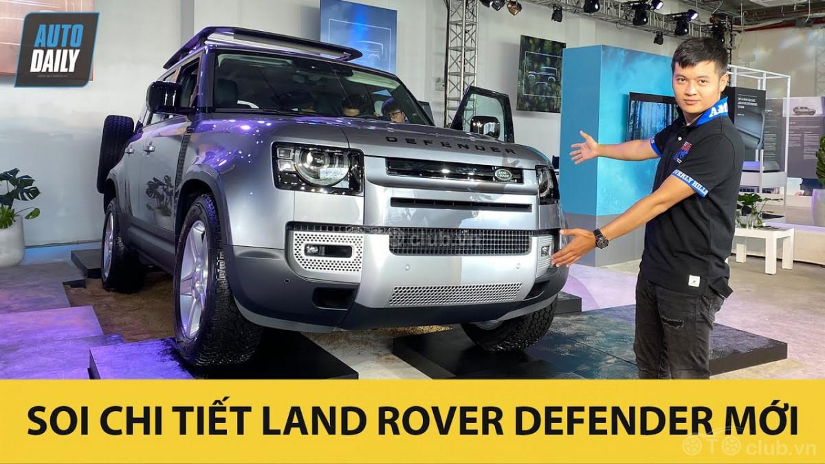 Trải nghiệm nhanh Land Rover Defender 2020 giá từ 3 tỷ 855