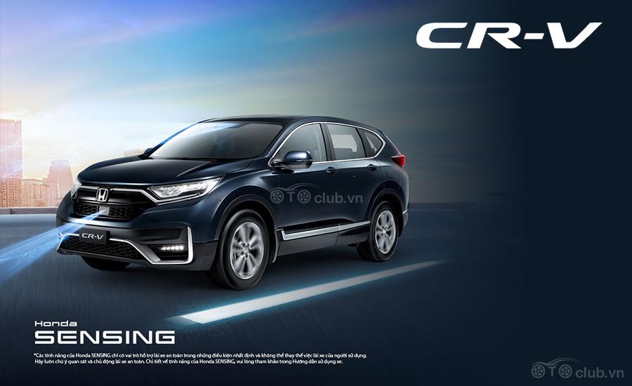Honda CR-V 2020 giảm giá mạnh trong tháng 7 âm lịch