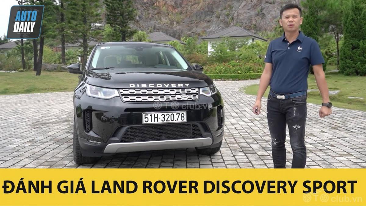 Đánh giá Land Rover Discovery Sport 2020