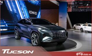 Hyundai Tucson 2021 lộ thiết kế tuyệt đẹp