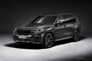 BMW X7 2021 phiên bản bóng đêm, phiên bản giới hạn