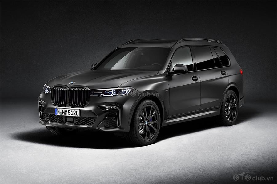 Ngoại hình BMW X7 Dark Shadow Edition 2021
