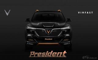 Lộ diện ô tô đắt nhất Vinfast - Vinfast President