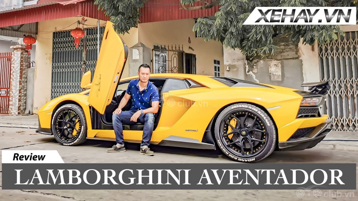 Aventador S mạnh nhất VN của Hoàng Kim Khánh với hơn 800 mã lực