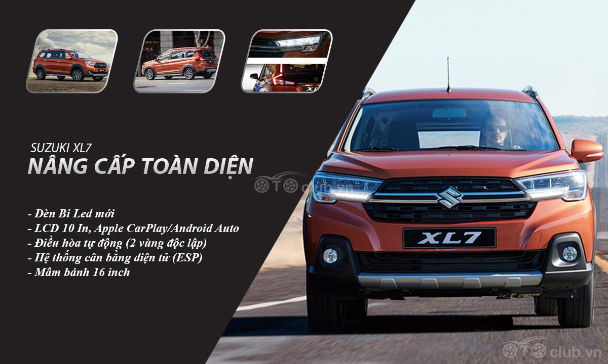 Suzuki XL7 2020 bản nâng cấp, vá lỗi cho Suzuki Ertiga