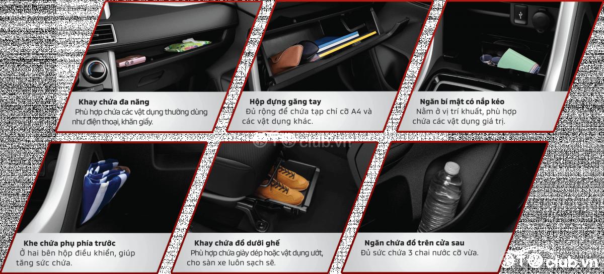 Mitsubishi Xpander 2020 Tiện ích thận thiện với triết lý OMOTENASHI