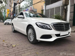 Mercedes C250 2015 trắng đen cực chất