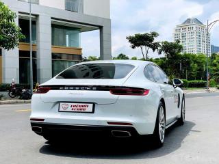 Porsche panamera trắng kem siêu đỉnh