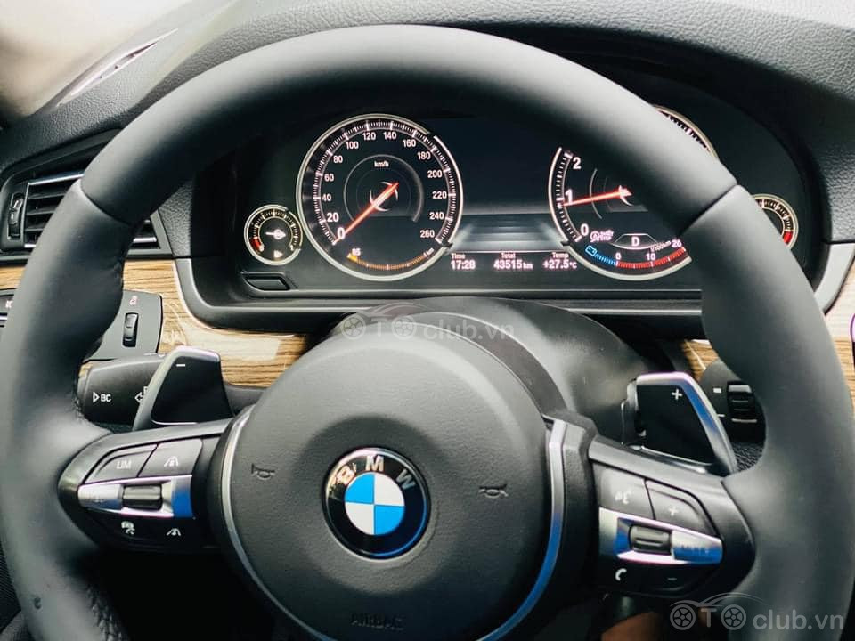 Bán BMW 520i 2015 màu trắng nội thất đen