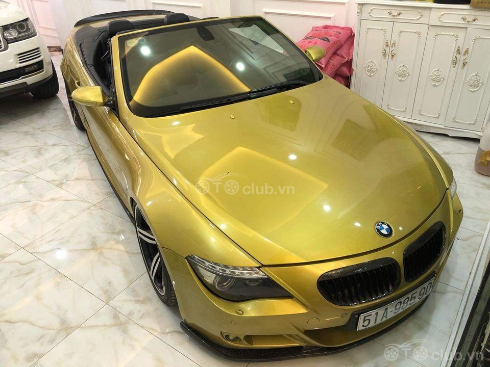 Cần bán BMW M6 V10 500+hp mui trần 70k km