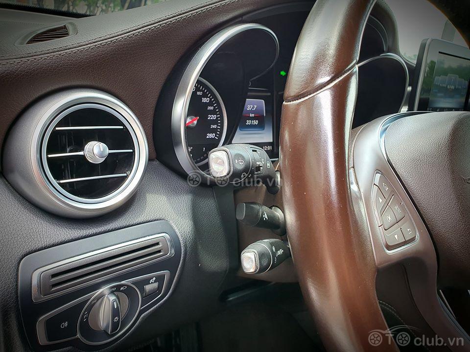 Mercedes GLC250 4matic Xanh Cavansite
