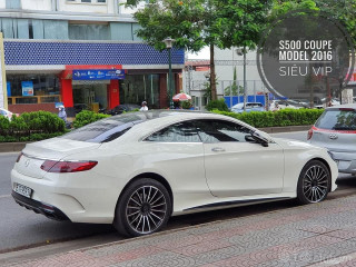 Mercedes S500 coupe model 16