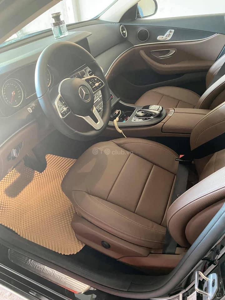 Mercedes E200 Đen - Nâu sản xuất 2018