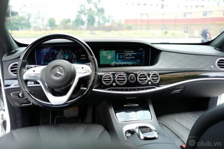 Bán Mercedes-benz S450 Luxury màu trắng nt đen