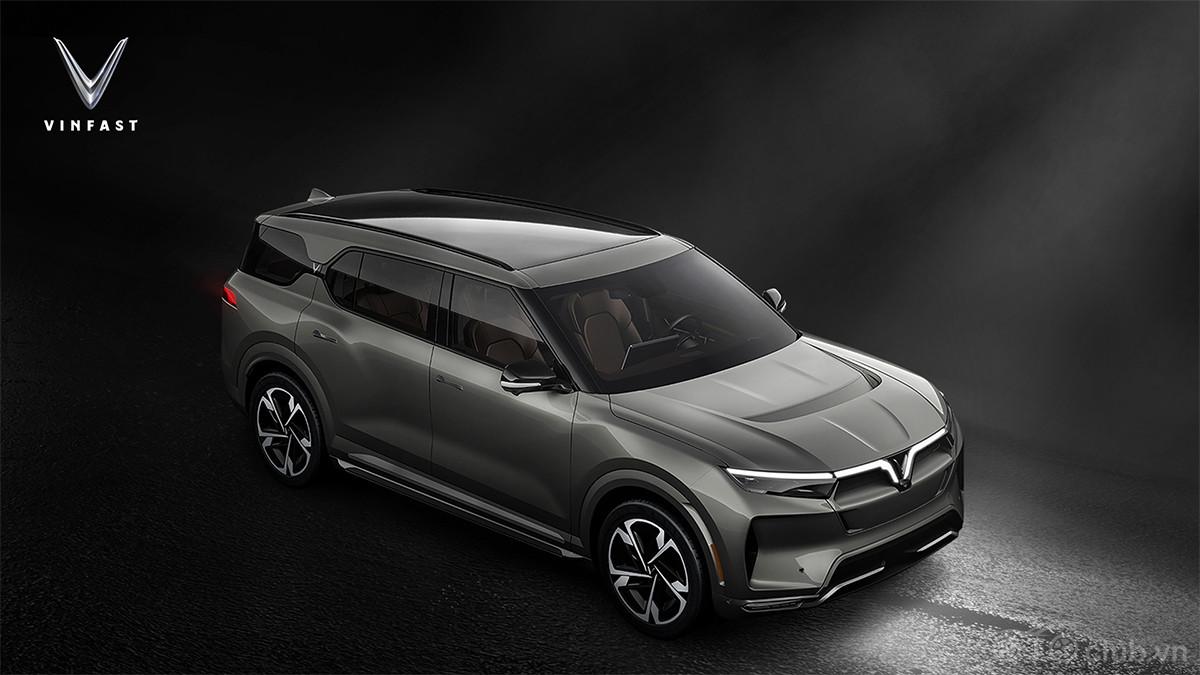 Vinfast ra mắt 3 dòng ô tô điện tự lái