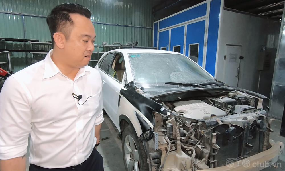 Vịt hoá Thiên Nga cho em Lexus Rx350 16 tuổi đến từ Hải Phòng