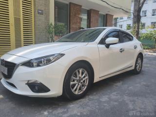 Bán xe Mazda3 1.5L 2016 Màu trắng, HT vay 70%