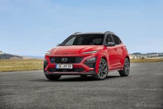 Hyundai Kona 2022 màu đỏ