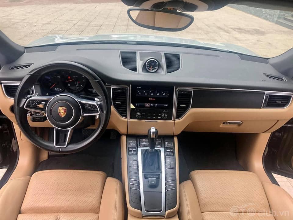 Porsche Macan nâu Mahogany Metallic