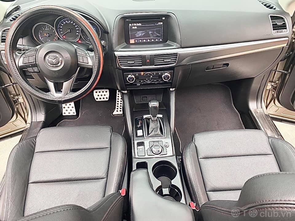 Mazda CX5 2.0 AT 2017 màu vàng cát biển tỉnh